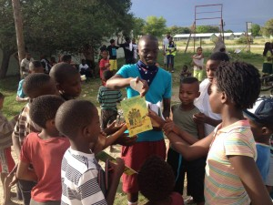 Gino in Tsumkwe